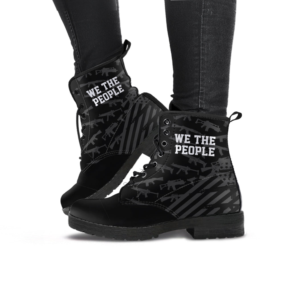 We The People - Women's Leather Boots
