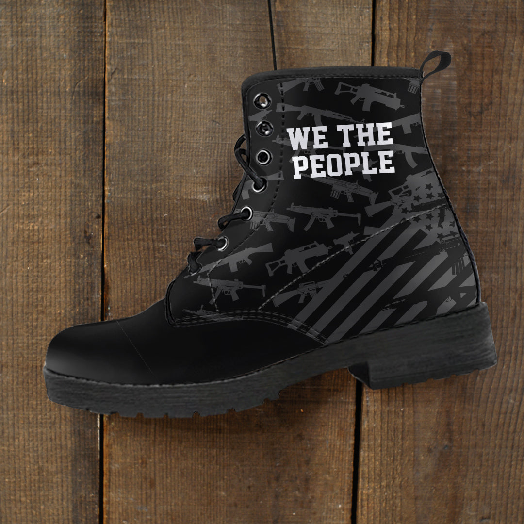 We The People - Men's Leather Boots