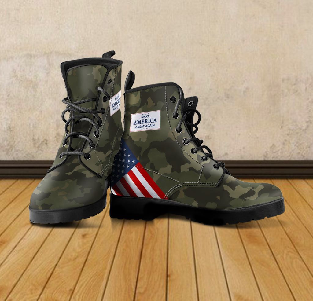 Camo MAGA - Men's leather boots