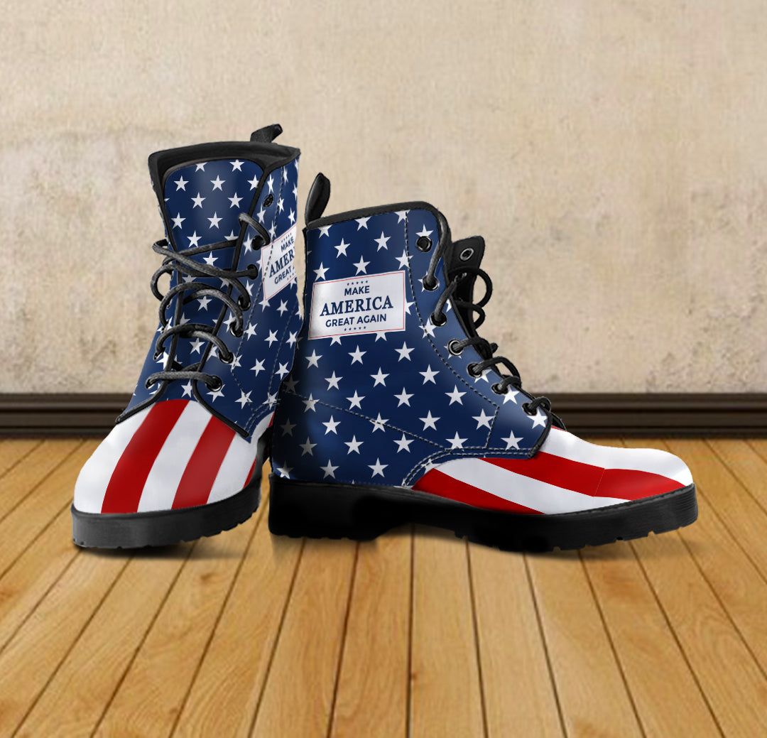 MAGA - Women's Leather Boots