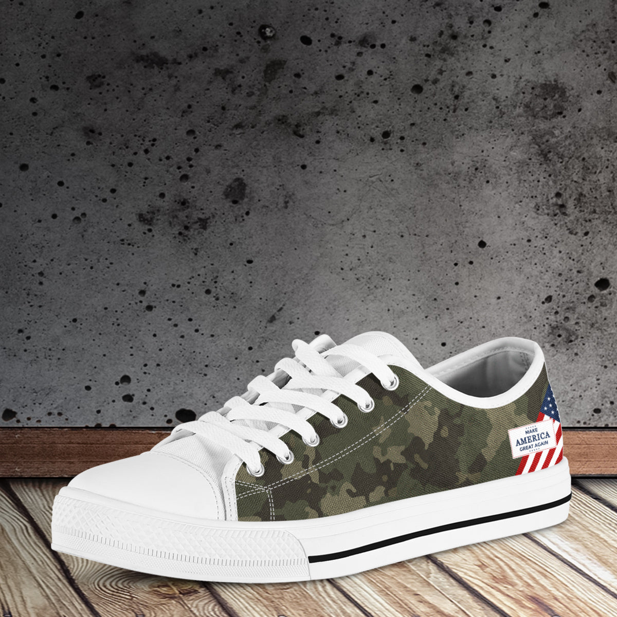 Camo MAGA - Women's low top shoes