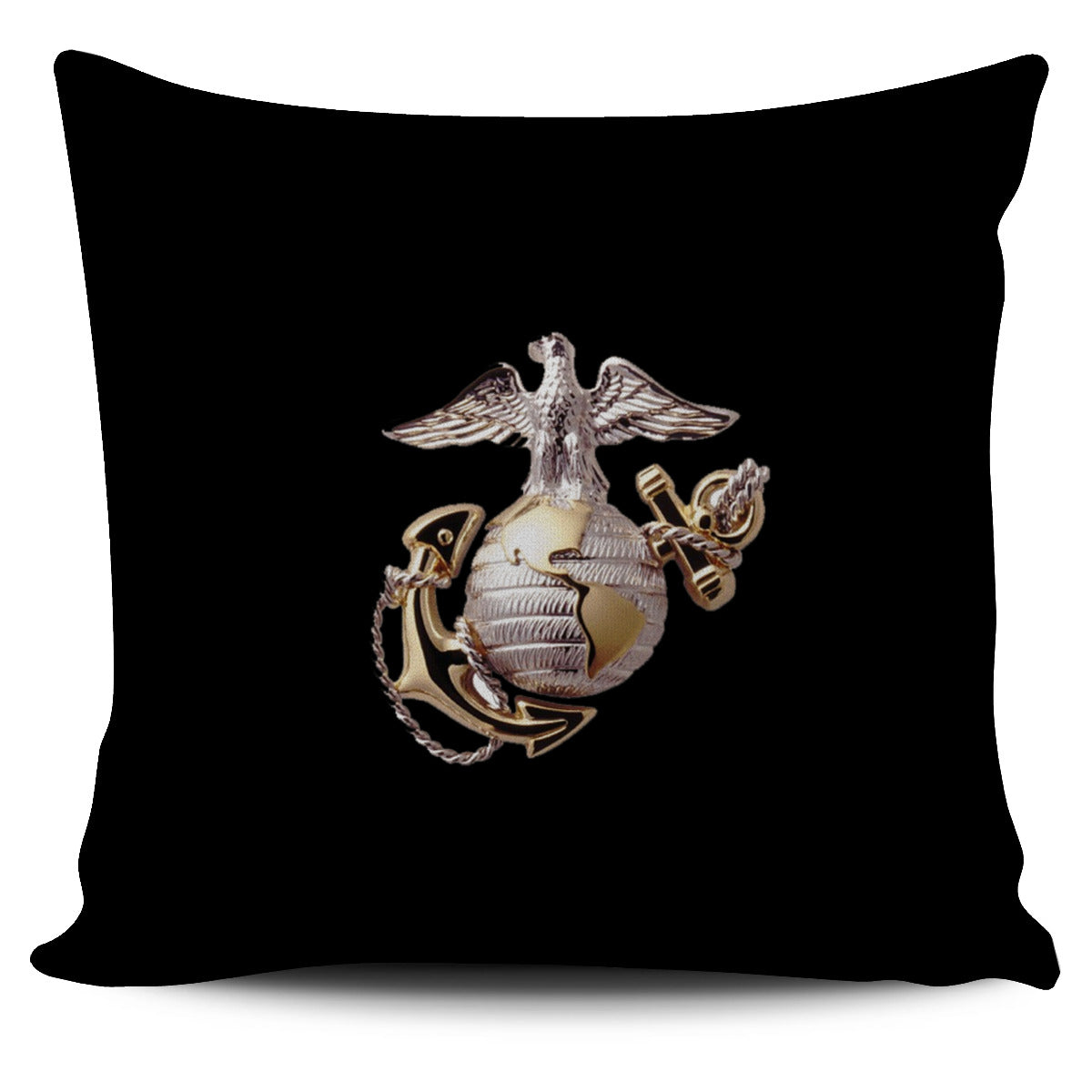 FREE Eagle, Globe, and Anchor Pillow