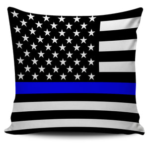 Thin Blue Line Pillow Case