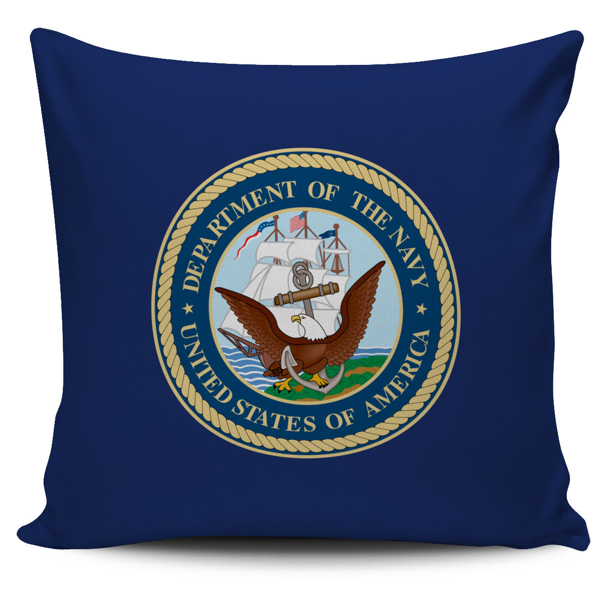 Seal of the US Navy Pillow