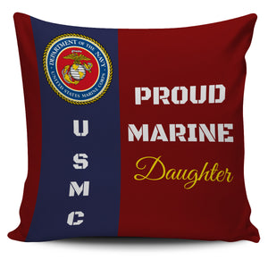 FREE Proud Marine Family Pillow Cases