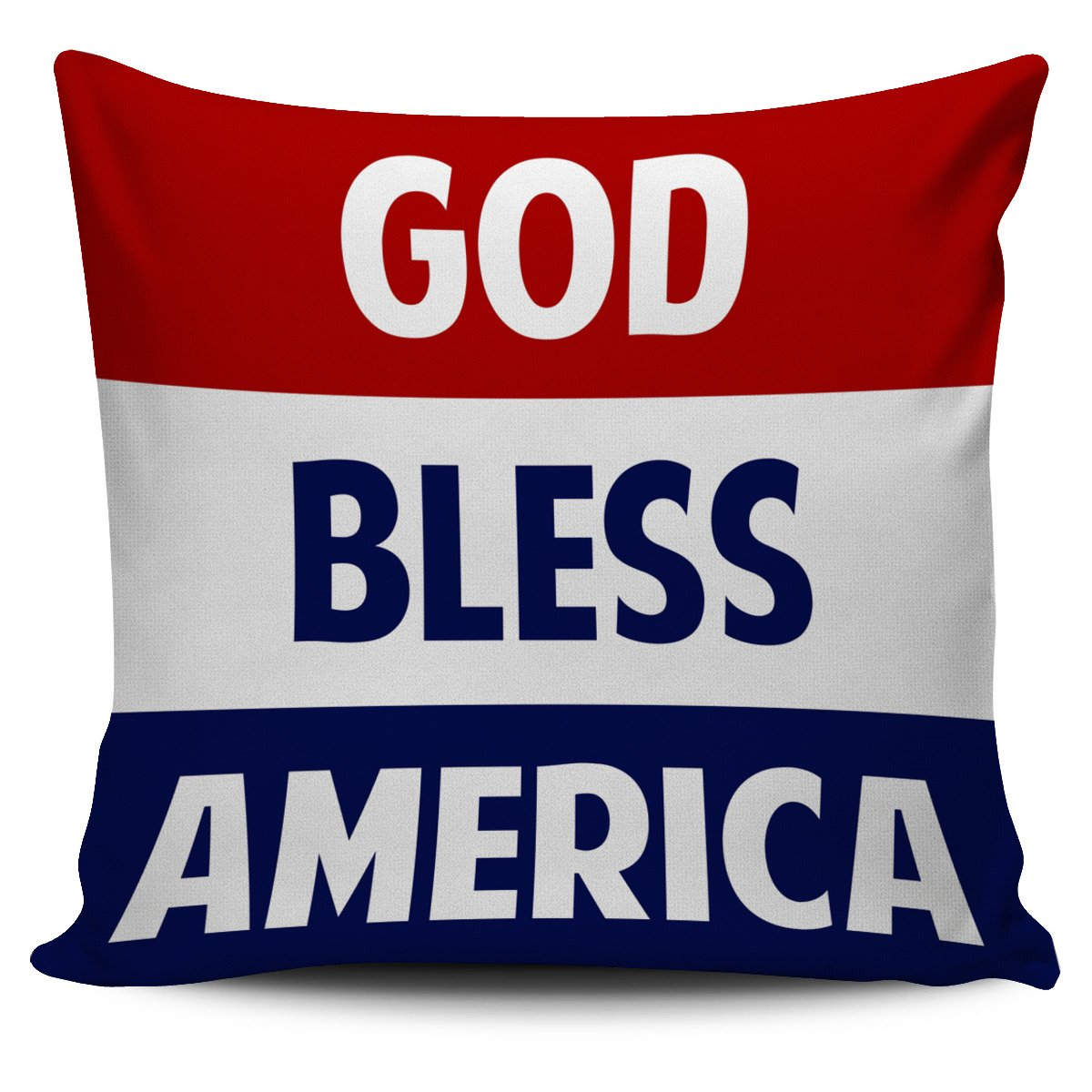 FREE God Bless America Pillow Case