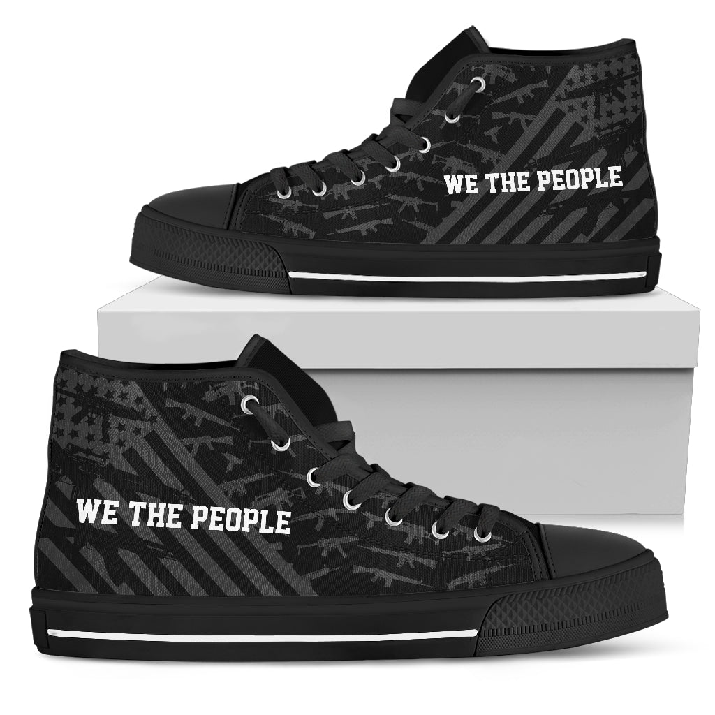 We The People - Men's High Top Shoes