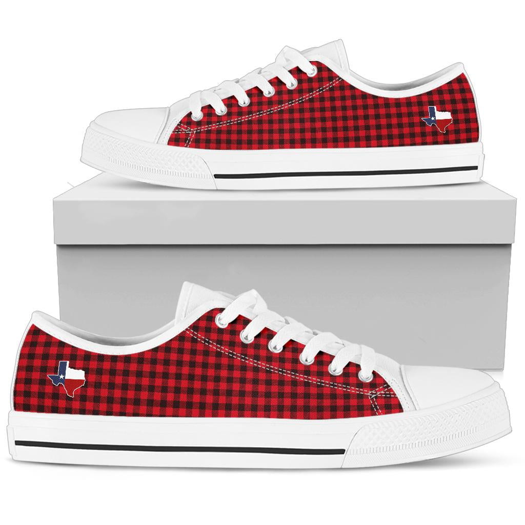 Texas Plaid - Low tops