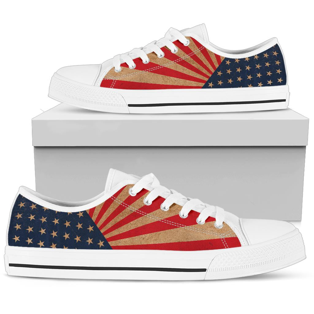 USA Retro - Low Top Shoes