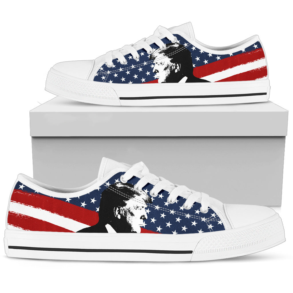 Trump Side - Women's Low Top Shoes