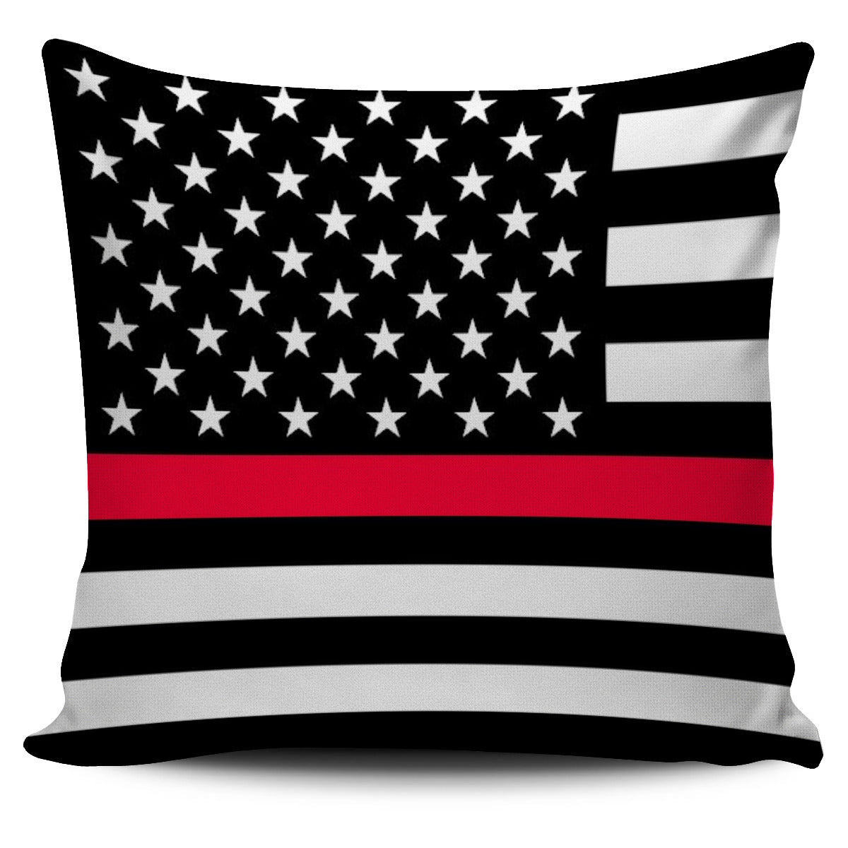 Thin Red Line Pillow