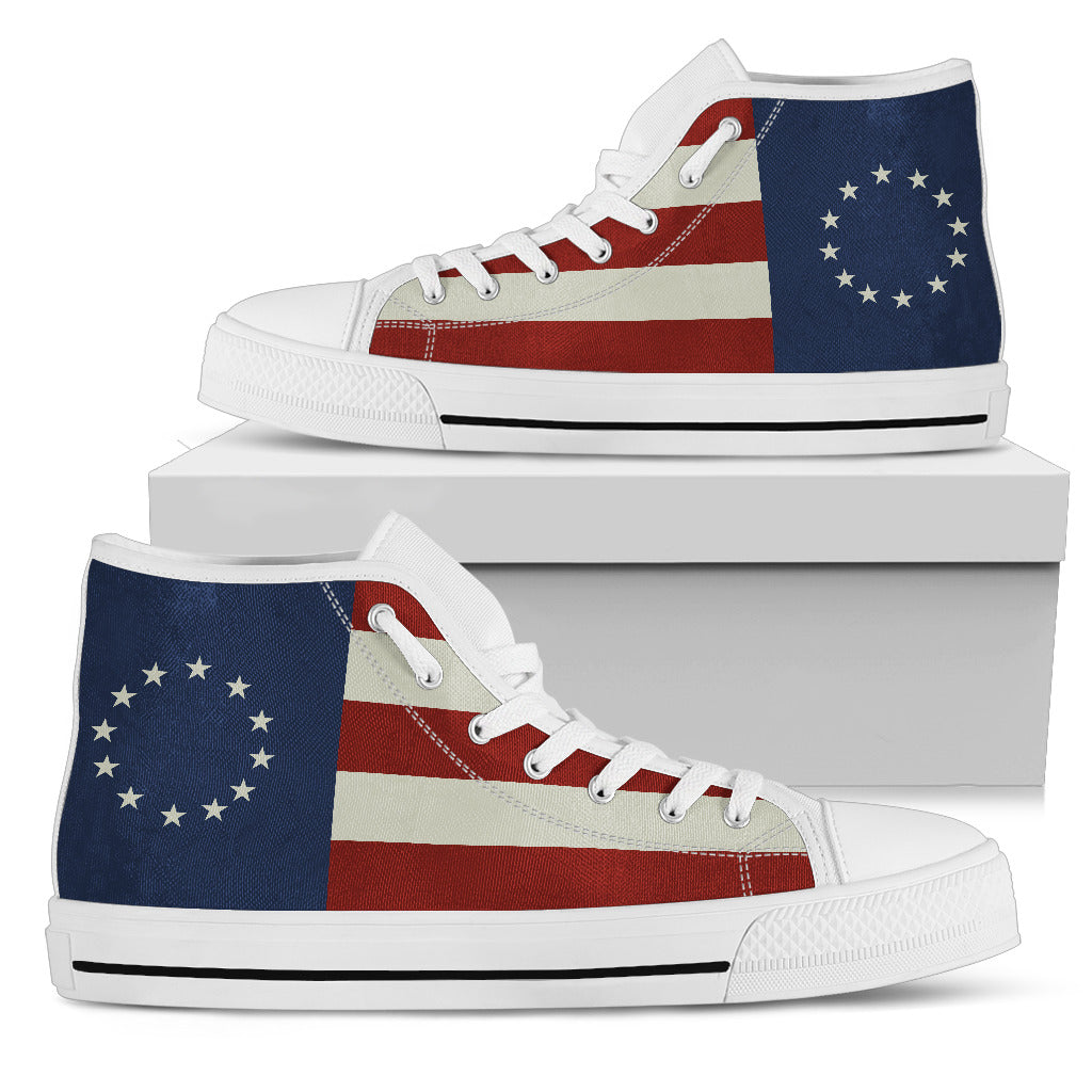 Betsy Ross Men's High Tops