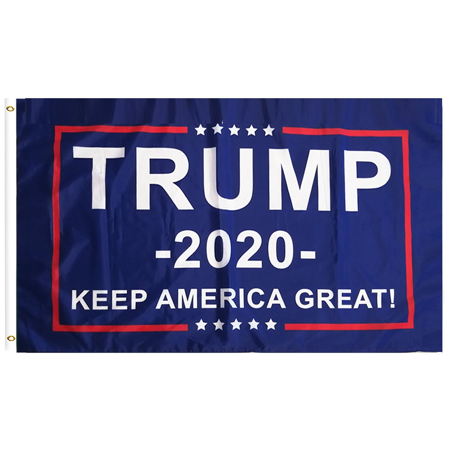 FREE Trump 2020 Flag - Keep America Great! - 3 ft x 5 ft