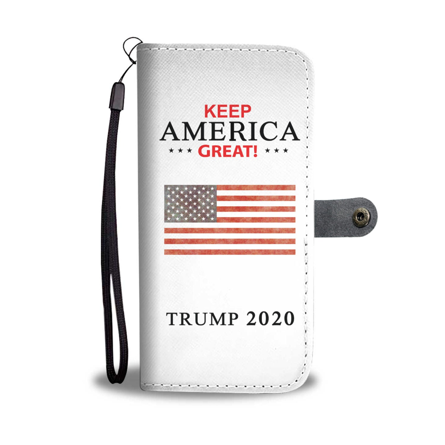 Keep America Great Wallet Phone Case