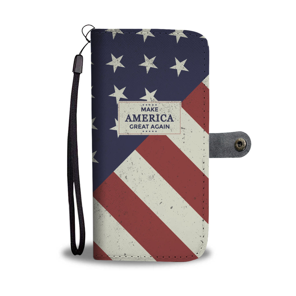 MAGA Stars and Stripes - Phone Case Wallet