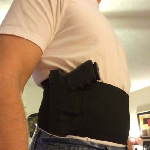FREE Belly Band Holster - Concealed, Universal Left & Right with Mag Pouches