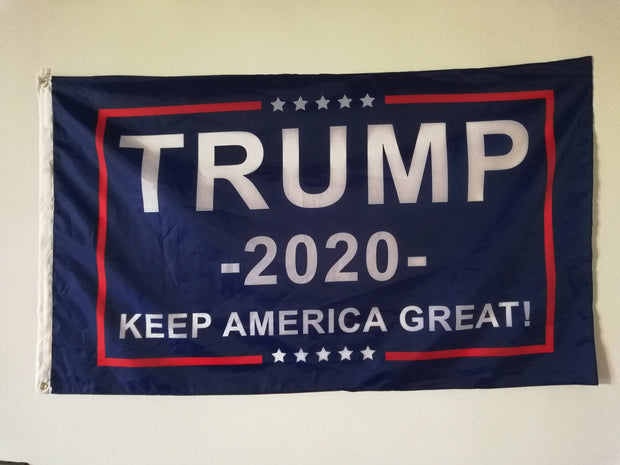 Trump 2020 Flag - Keep America Great! - 3 ft x 5 ft - 25% OFF!