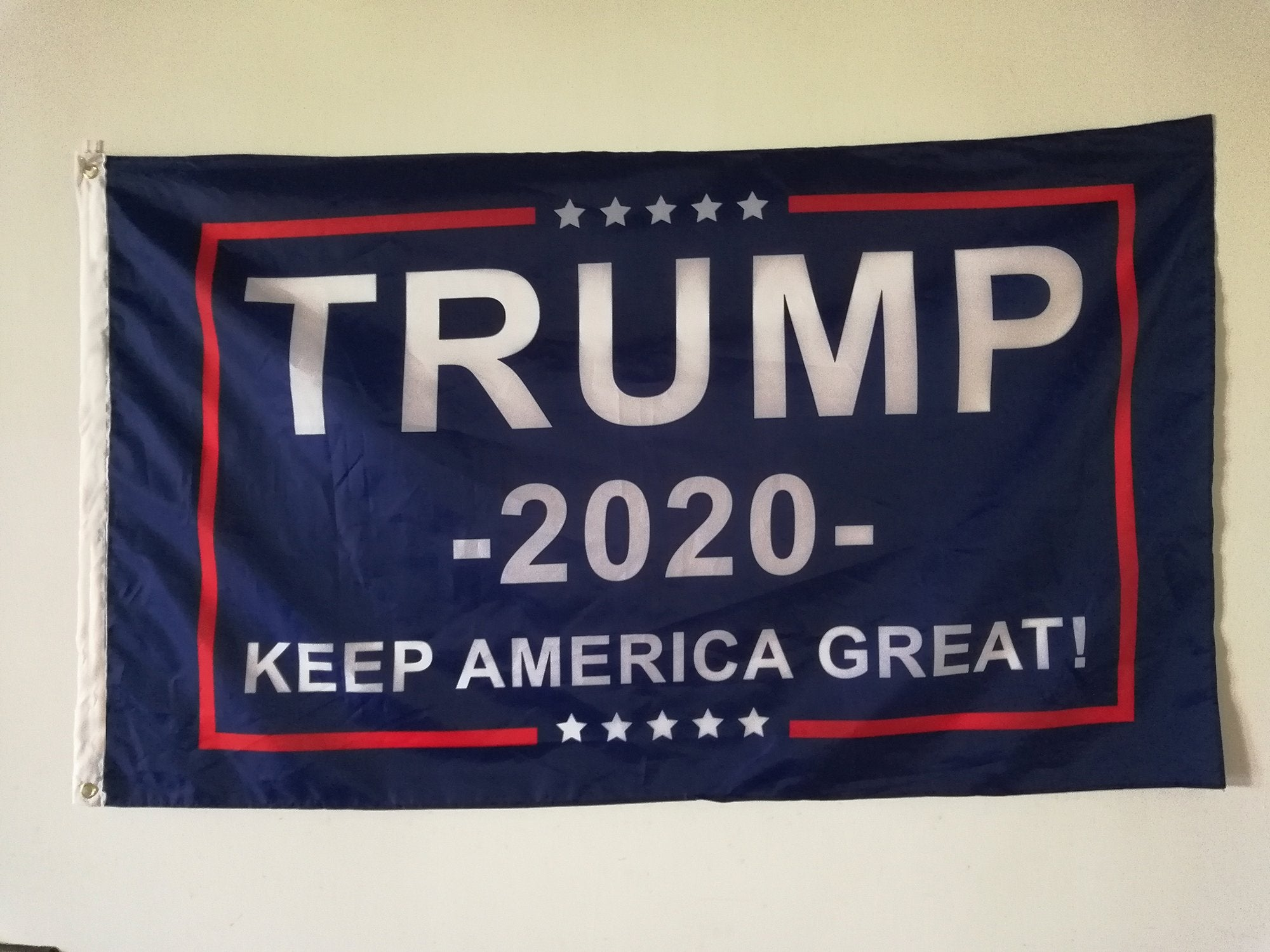 FREE Trump 2020 Flag - Keep America Great! - 3 ft x 5 ft -
