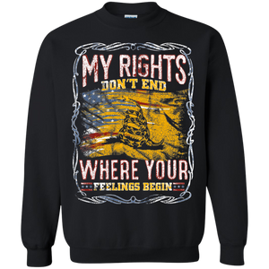 My Rights, Your Feelings Apparel