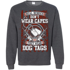 Real Heroes Don't Wear Capes - Apparel