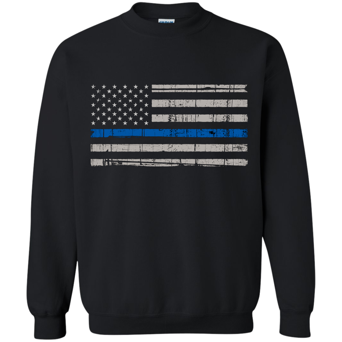 Thin Blue Line USA Flag - Apparel