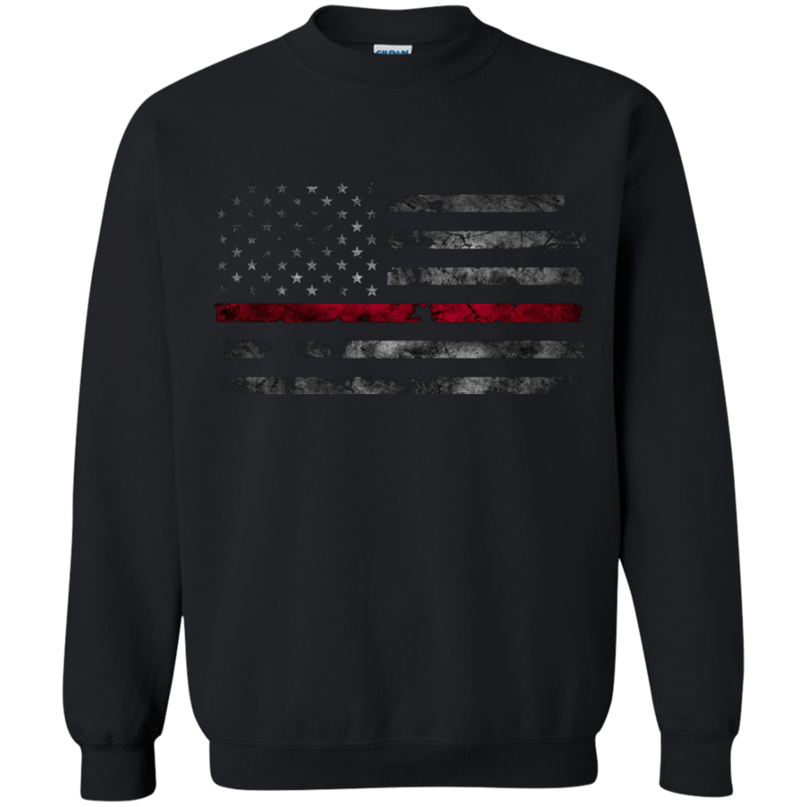 Red Line USA Flag - Apparel