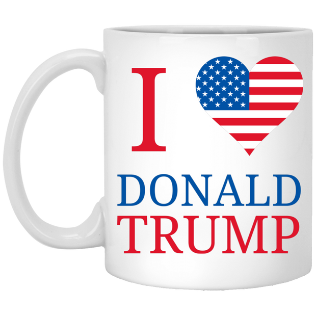I Love Donald Trump - Mugs and Coasters