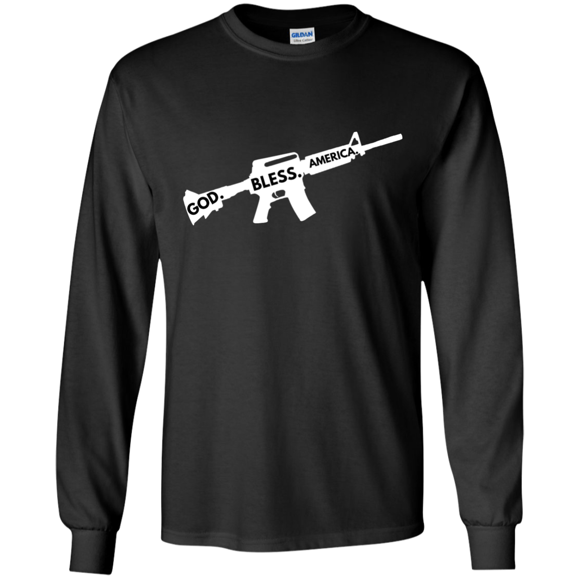 God. Bless. America. - M16 Apparel