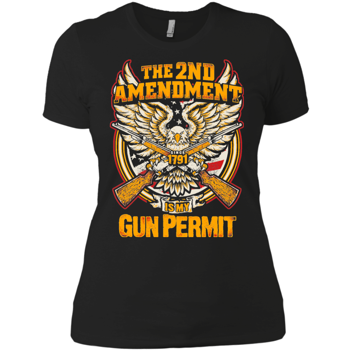 The 2nd Amendment is my Gun Permit - Apparel
