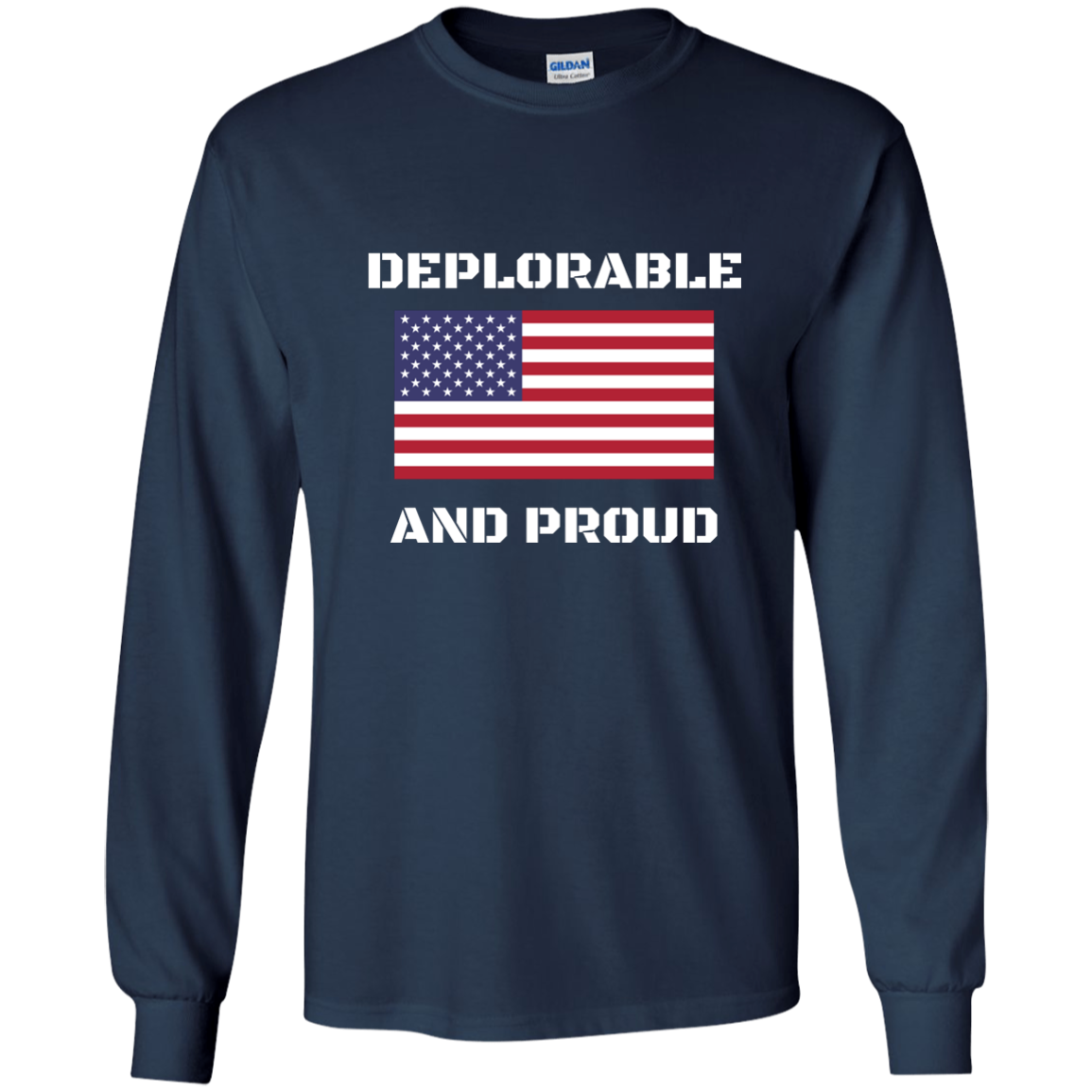 Deplorable and Proud Apparel