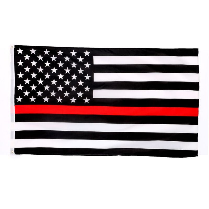FREE Red Line Flag - 3 ft x 5 ft