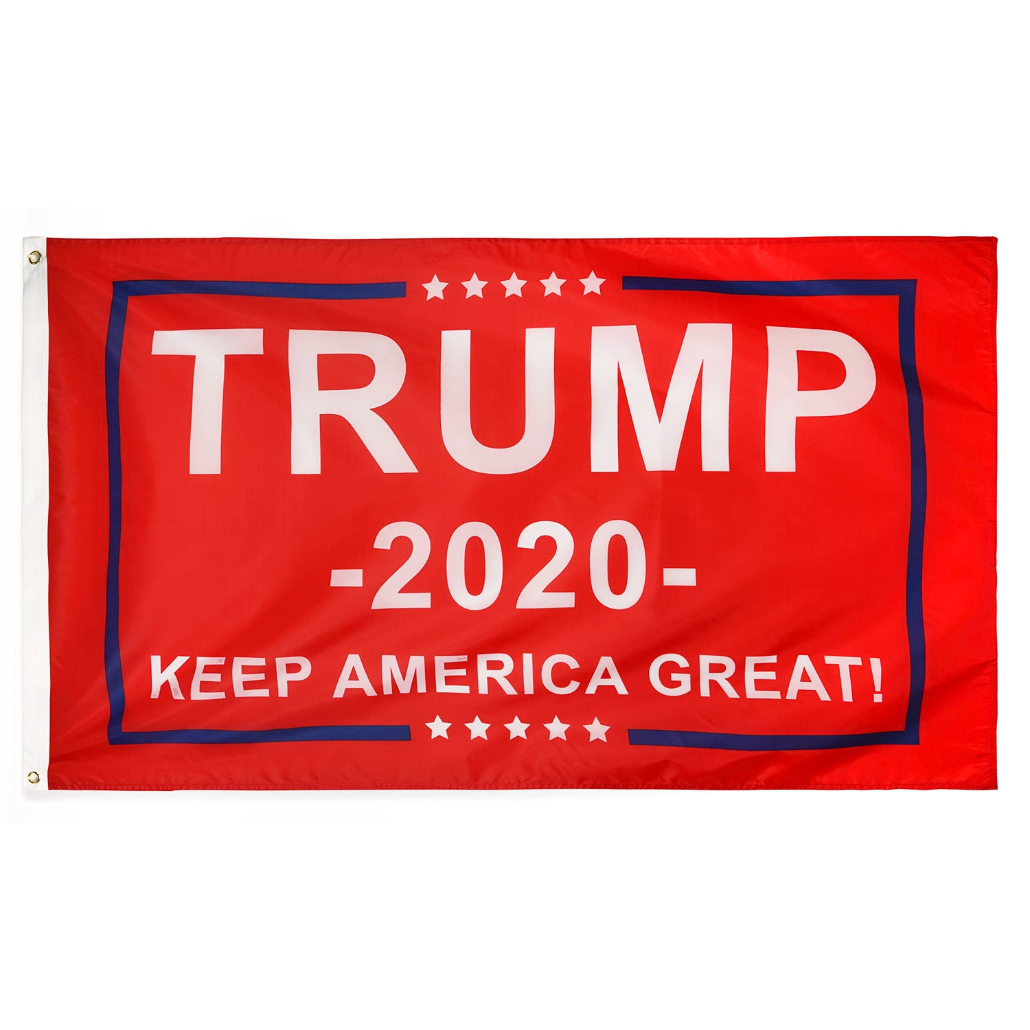 RED Trump 2020 Flag - Keep America Great! - 3 ft x 5 ft