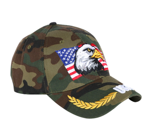 USA Eagle Hat - Camouflage