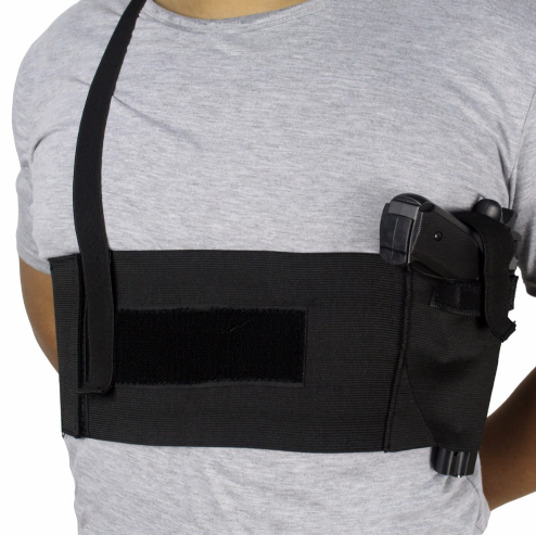 Deep Concealment Tactical Shoulder Holster - Underarm Gun Holster for All  Pistols