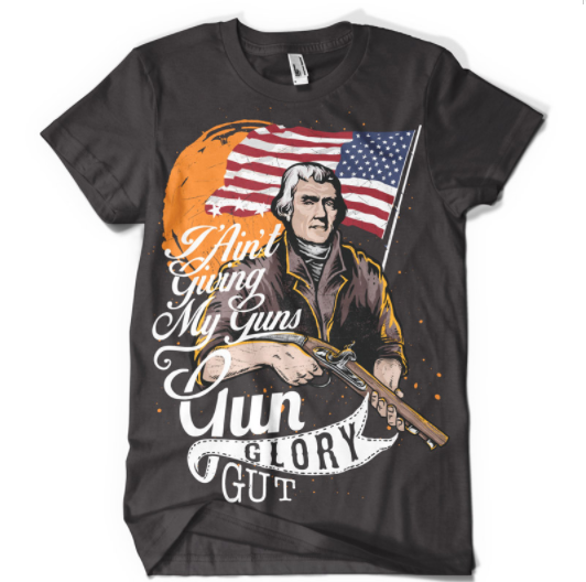 I Ain't Giving My Guns - T - Shirt