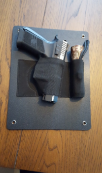 Under-The-Desk Holster - Includes Mag Slot