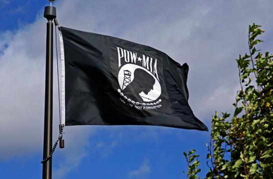 FREE POW/MIA Flag - 3 ft x 5 ft