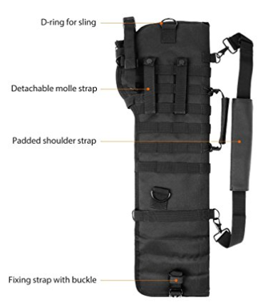 Padded Tactical Rifle Scabbard