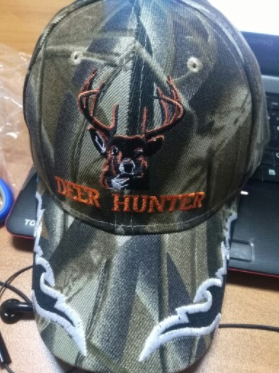 Deer Hunter Camo Cap