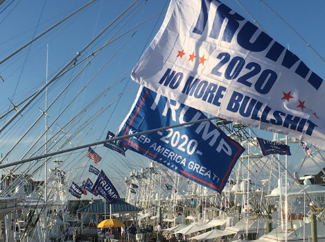 Trump 2020 - NO MORE BS Flags - 3 ft x 5 ft