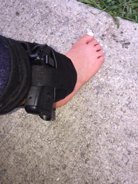 FREE Ankle Holster - Concealed & Padded