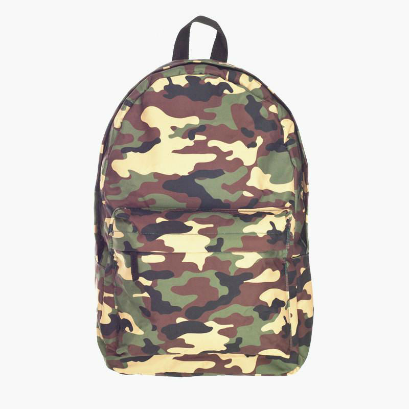 Military Camo Backpack
