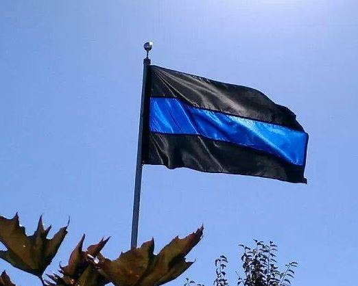 Thin Blue Line Flag - 3 ft x 5 ft