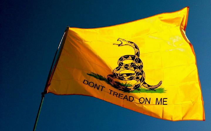 "FREE Gadsden ""Don't Tread on Me"" Flag - 3 x 5 Feet"