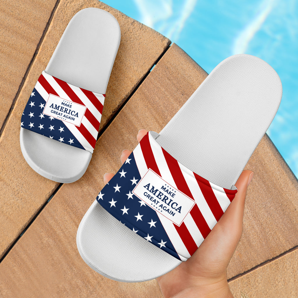 MAGA - Women's Slide Sandals