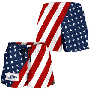 Women's MAGA Shorts