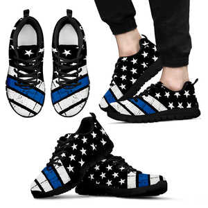 Thin Blue Line Sneakers EXP - Men's Sneakers