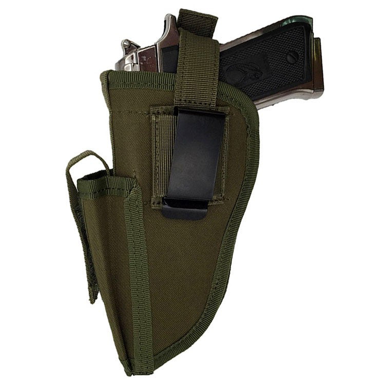 Tactical Pistol Holster - Waterproof & Mag Holder