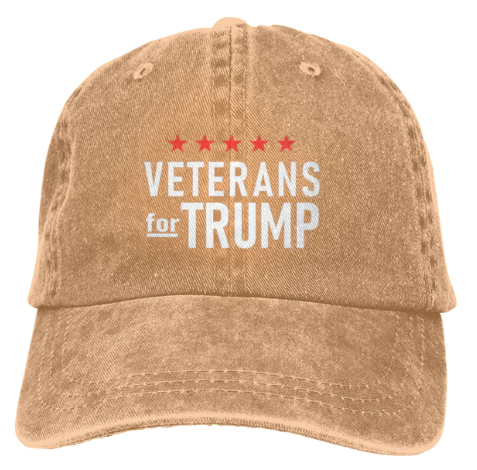 Veterans for Trump Hat