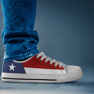 Texas Flag -  Low Tops